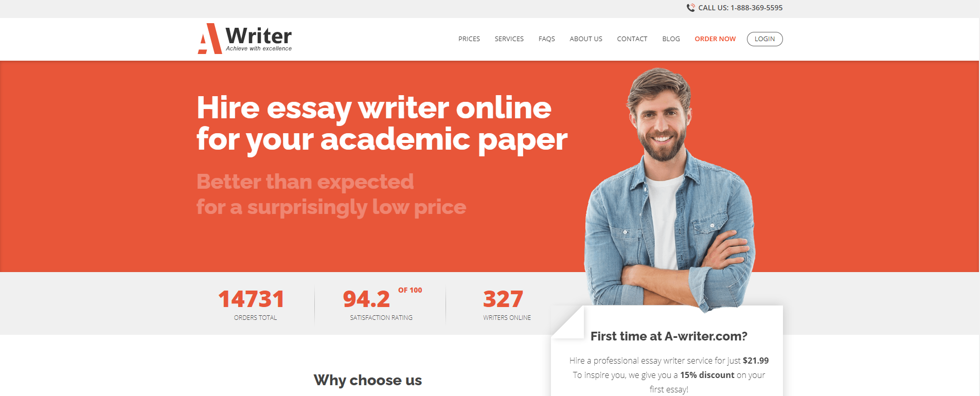 A writer - Best essay writing service