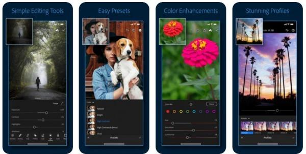 ADOBE PHOTOSHOP LIGHTROOM - apps like remini