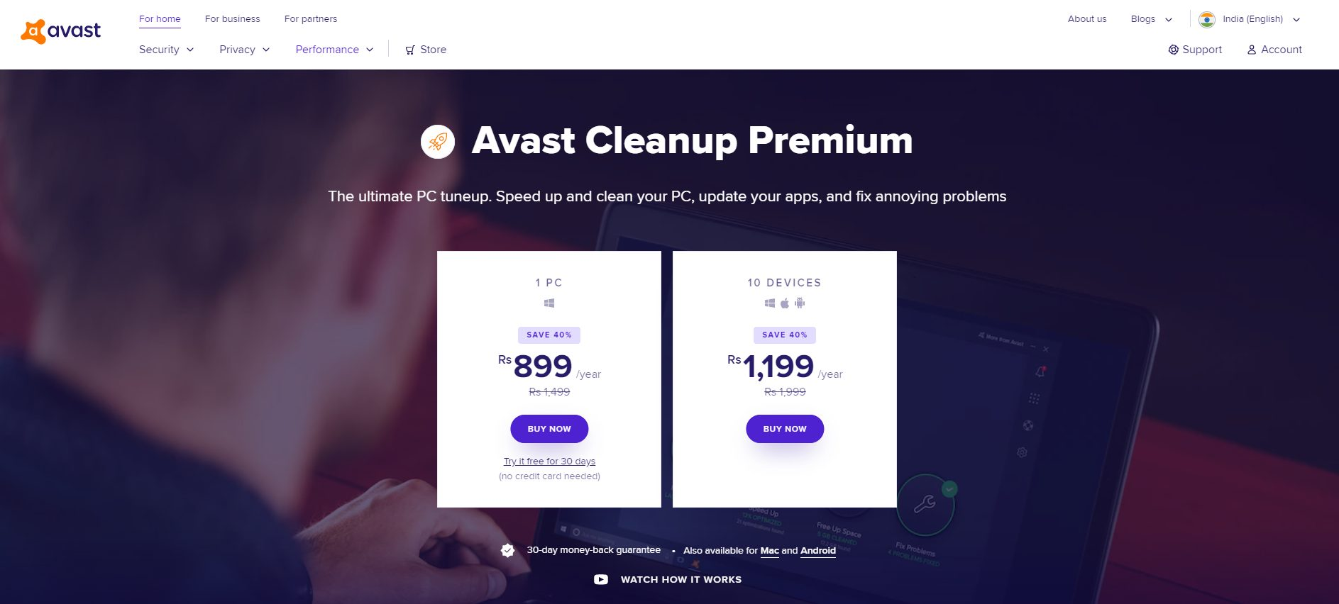 AVAST CLEANUP - CCleaner Alternatives