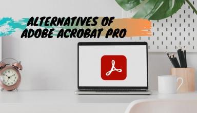 Alternatives of Adobe Acrobat Pro