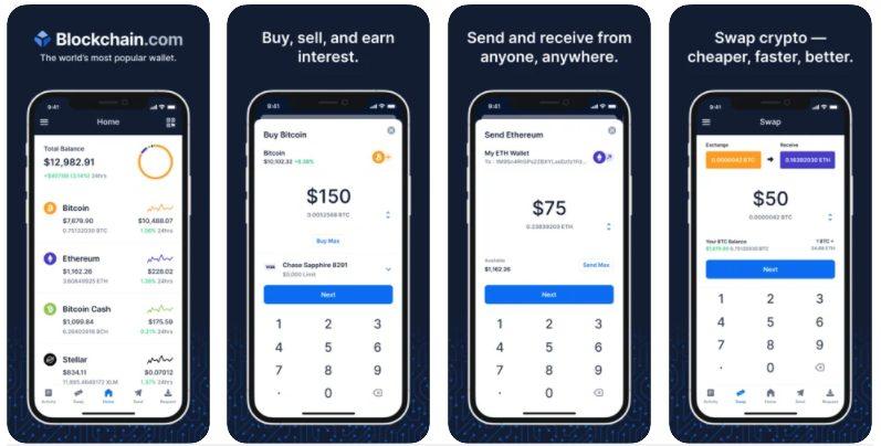 Blockchain Wallet - best crypto wallet