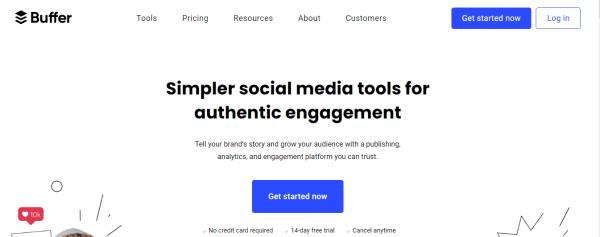 Buffer: Social Media Tool