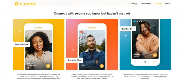 Bumble: Dating Site In Canada