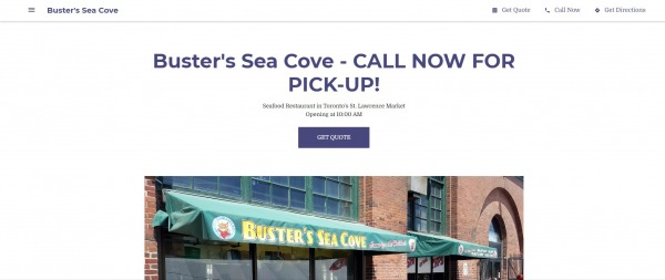 Buster's Sea Cove