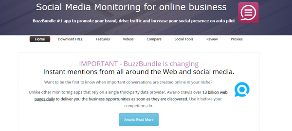 BuzzBundle: For Social Media Managers