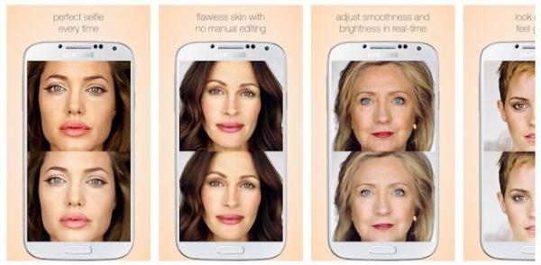 CREAMCAM App Like Facetune