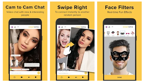 Chatspin: App like Omegle
