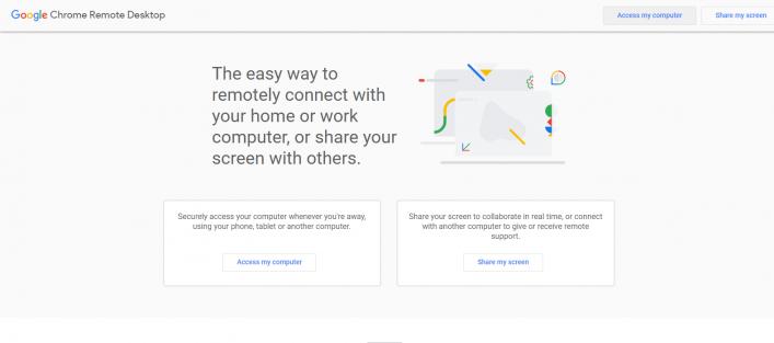 Chrome Remote Desktop: AnyDeskAlternative