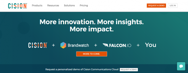 Cision: For Content Marketers