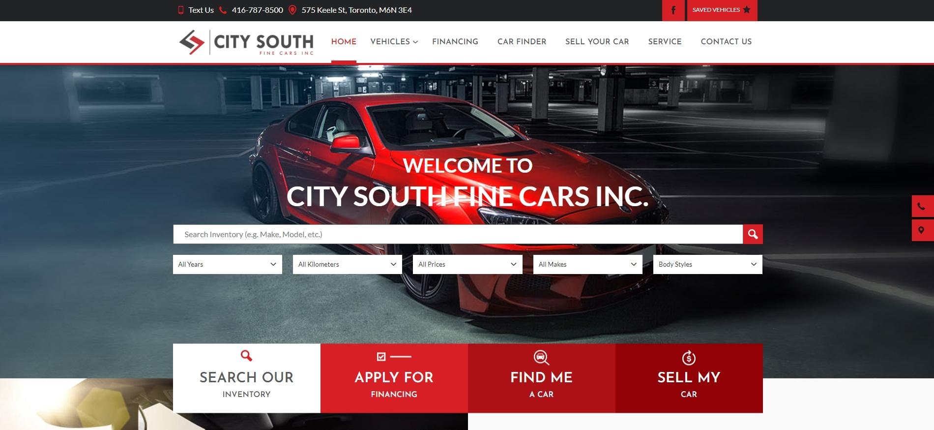 City South Fine Cars Inc. -used car dealerships