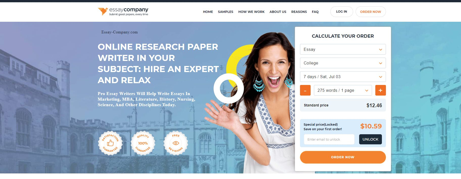 Essay Company - Best Paper Writing Services