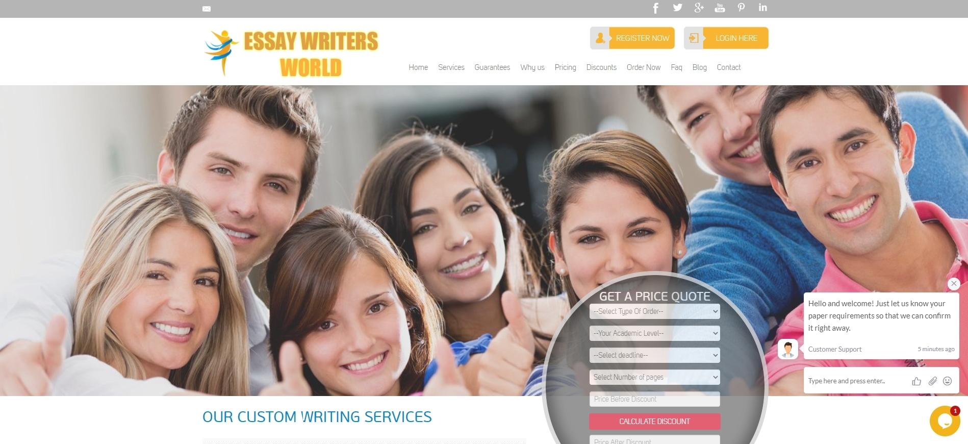 EssaywritersWorld