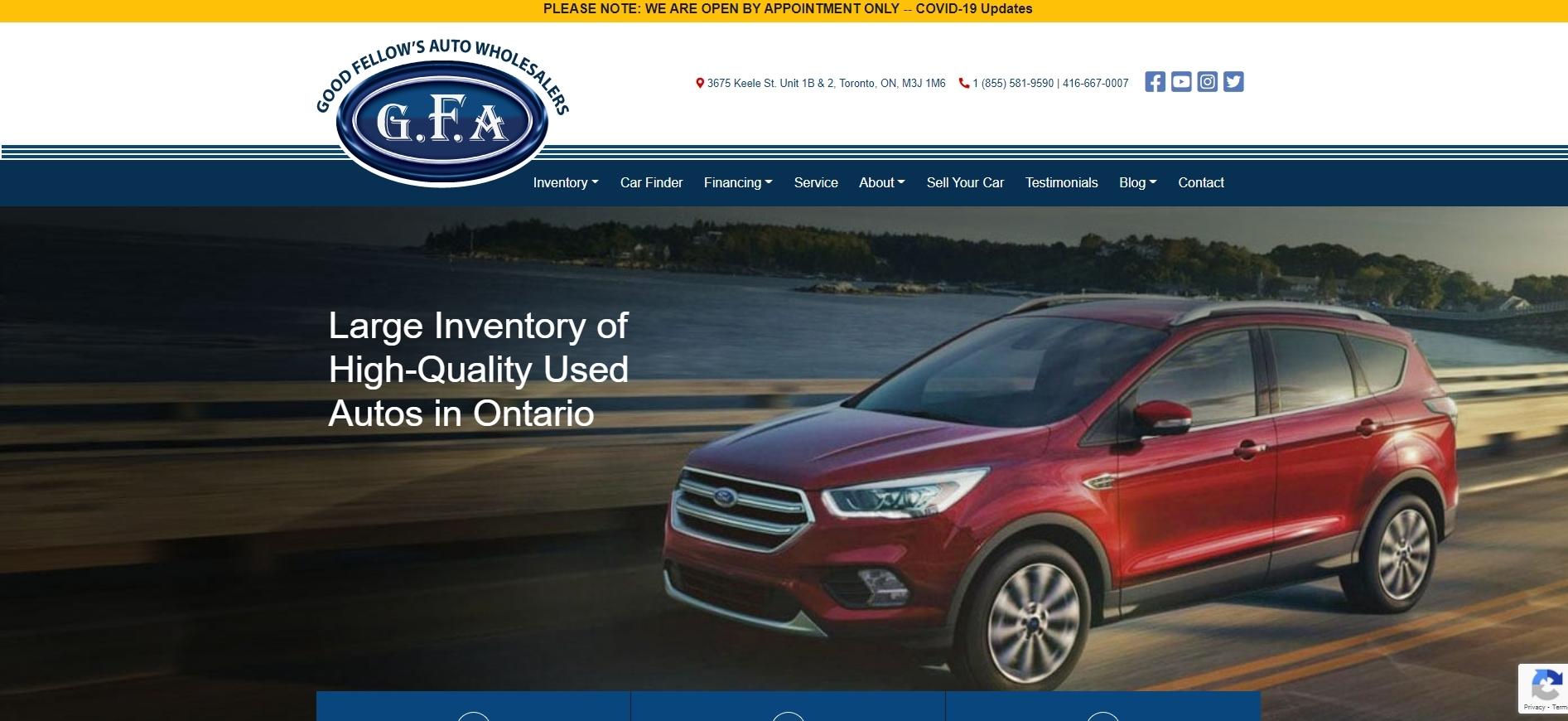 Good Fellows Auto wholesalers
