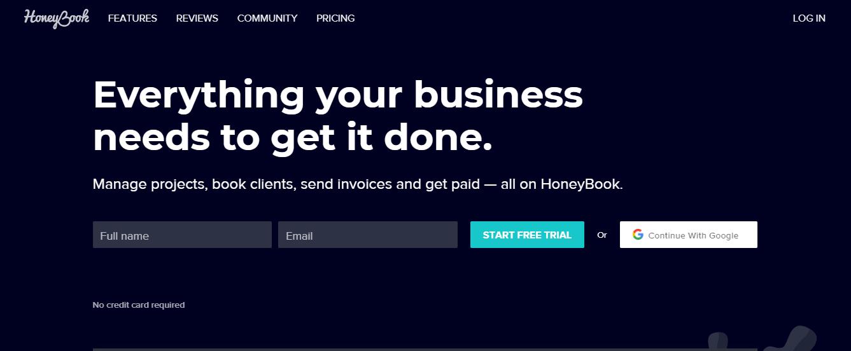 HoneyBook: Alternative To Calendly
