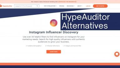 HypeAuditor Alternatives