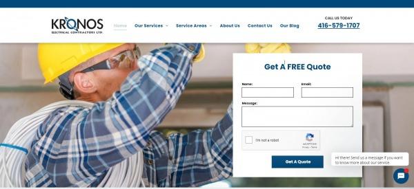 Kronos Electrical Contractors Ltd.: Electrician In Toronto