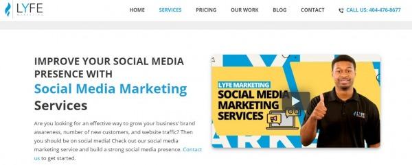 LYFE Marketing - social media management services