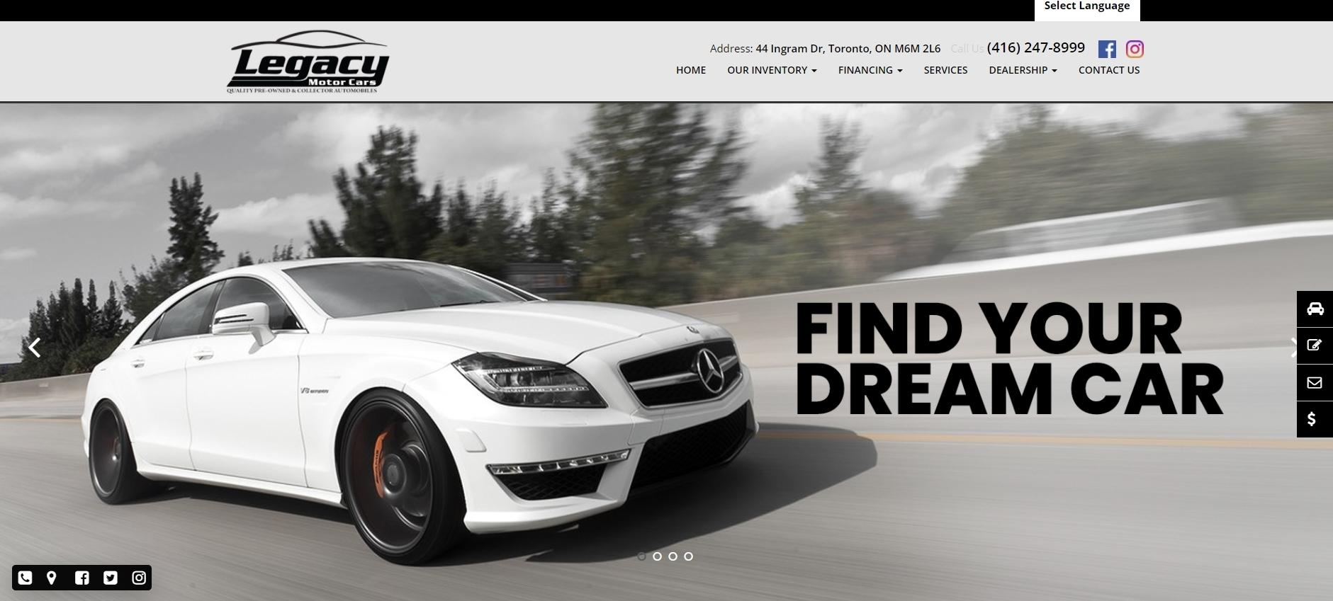 Legacy Motors Cars -used car dealerships