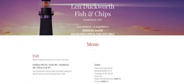 Len Duckworth's