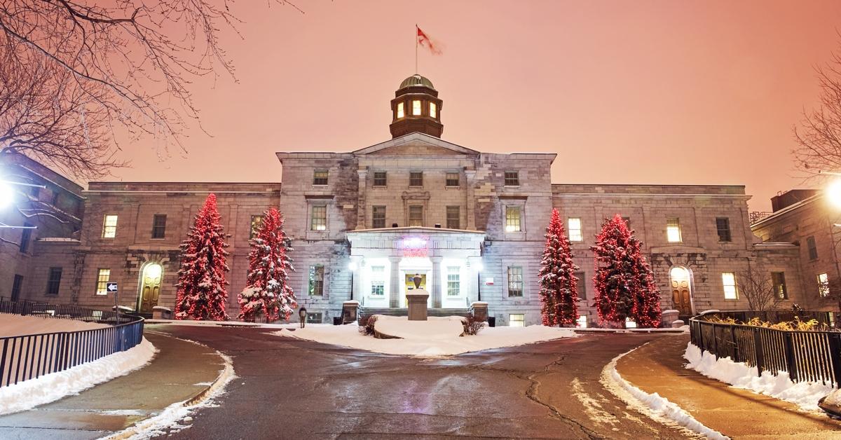 McGill University - Architecture Schools in Canada