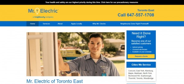 Mr. Electric: Electrician In Toronto