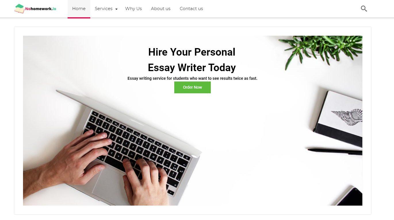 NOHOMEWORK - Best essay writing service