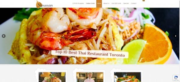 Nimman - Thai Food Restaurants in Toronto
