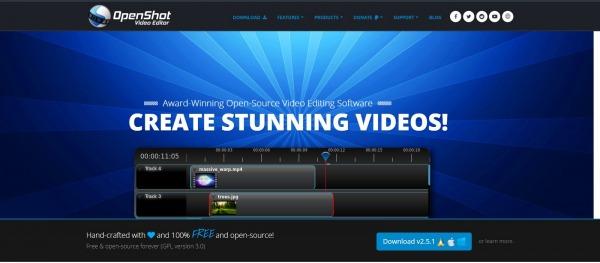 Openshot: Adobe Premiere Alternative