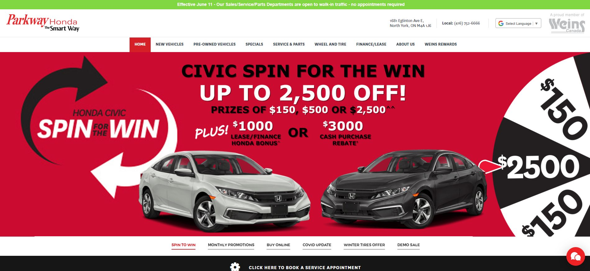 Parkway Honda -used car dealerships