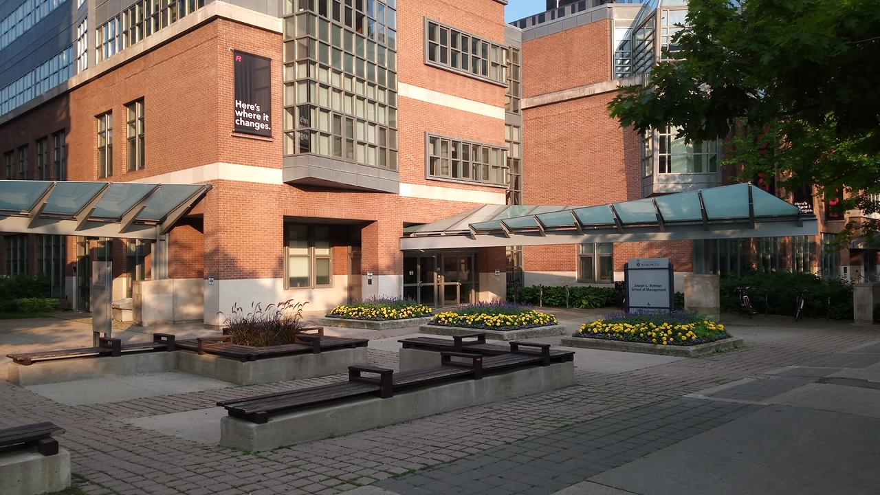 Rotman School of Management – University of Toronto -business schools in Canada