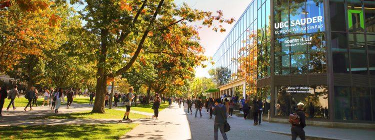 Sauder School of Business – University of British Columbia -business schools in Canada