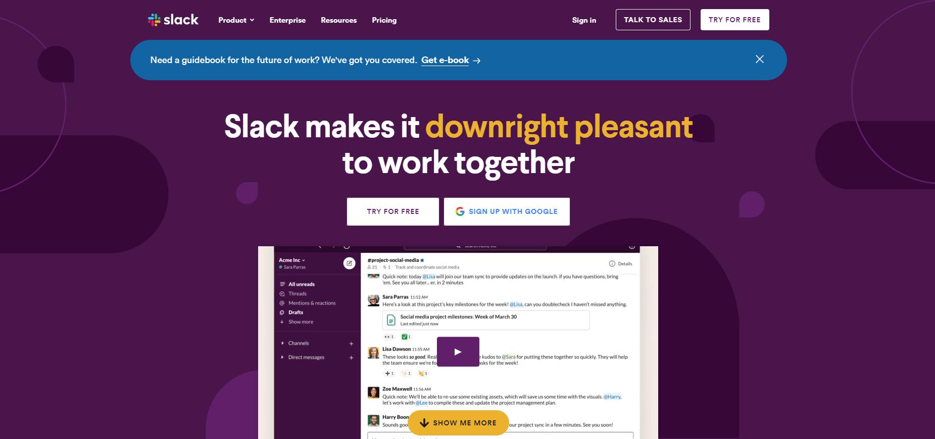 Slack- Apps Like Camfrog