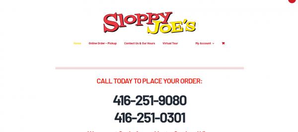 Sloppy Joe's - Chicken Wings in Toronto