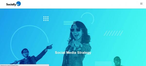 Sociallyin - social media management services