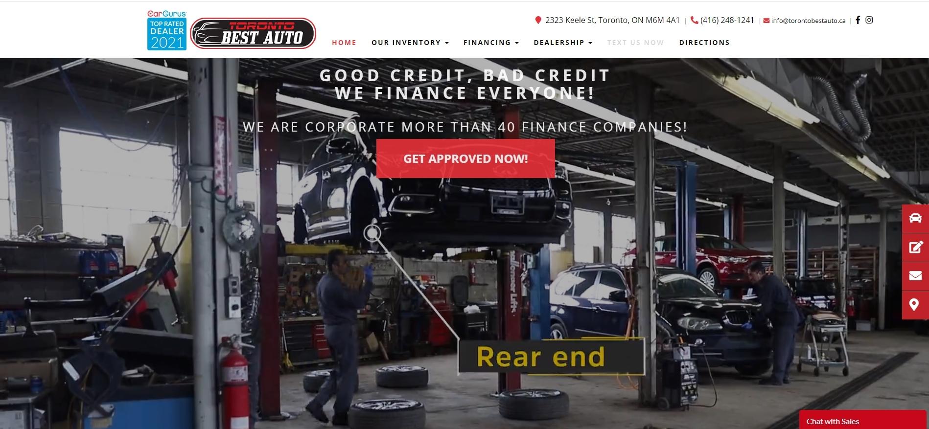 Toronto Best Auto -used car dealerships
