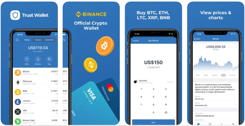 Trust wallet - best crypto wallet