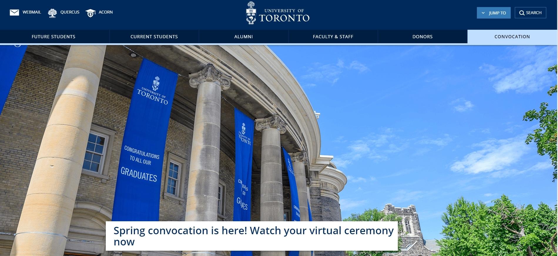 University of Toronto -Computer Science Universities In Canada