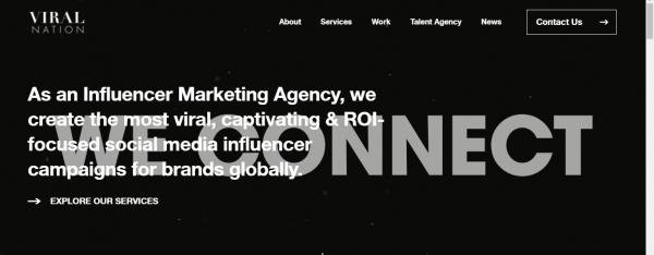 Viral Nation - social media management services