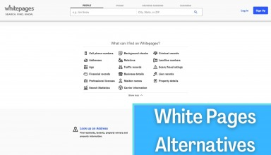 White Pages Alternatives