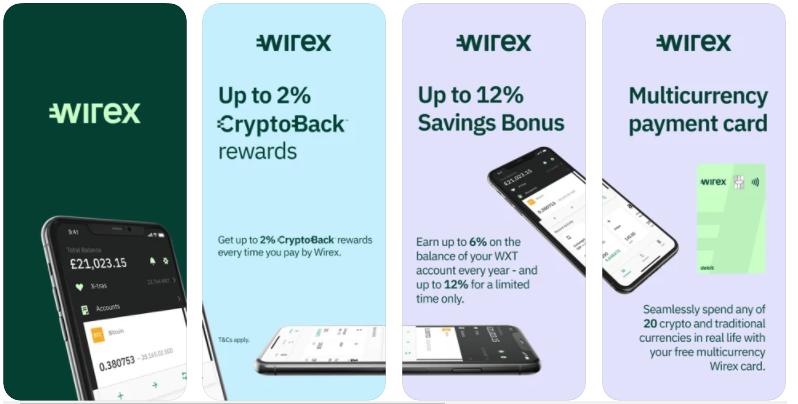 Wirex - best crypto wallet