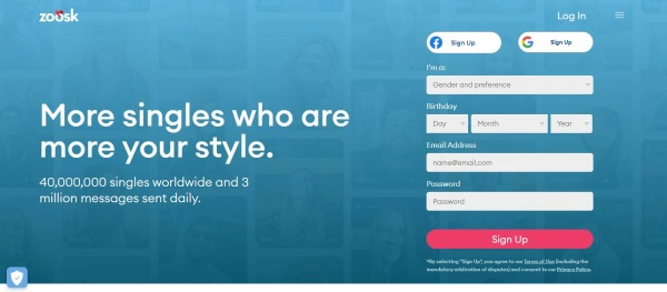 Zoosk: Dating Site In Canada