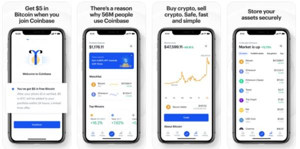 coinbase - alternatives of binance