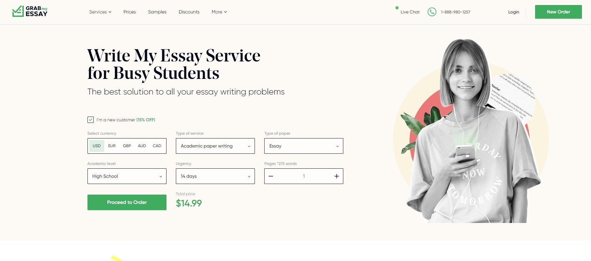 grabmyessay - Best essay writing service
