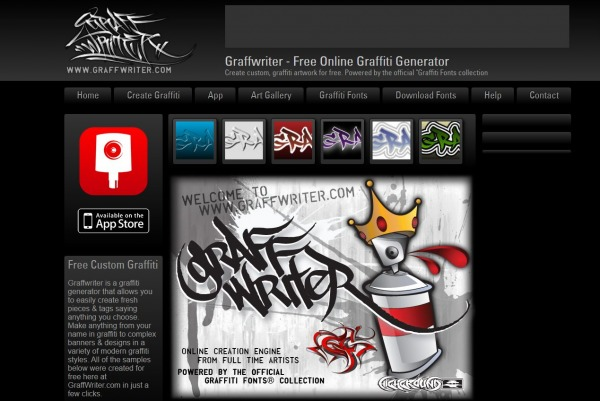 graffwriter - Twitter Font Generator