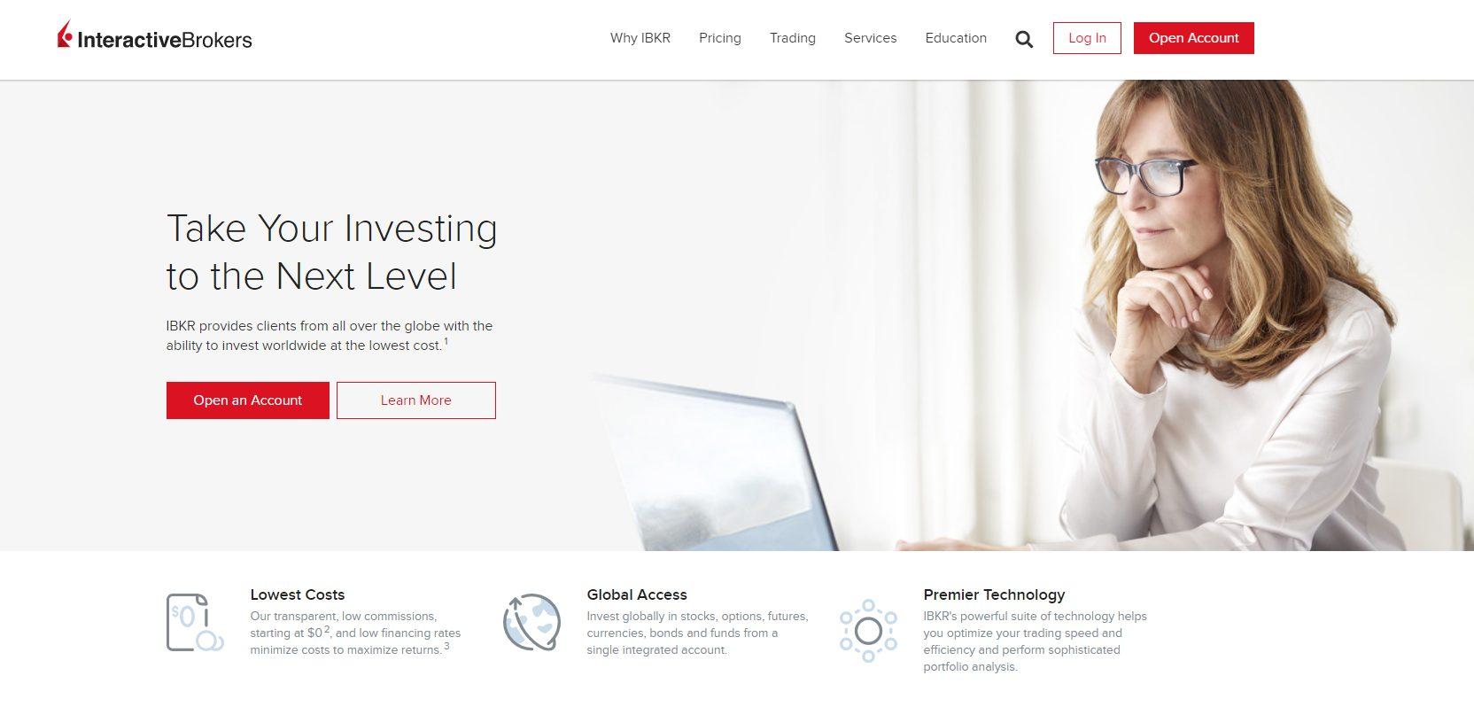 interactive brokers - robinhood alternatives