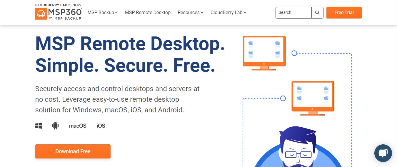 msp360 -LogMeIn Alternatives