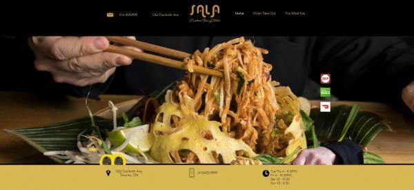 sala kitchen - Thai Food Restaurants in Toronto