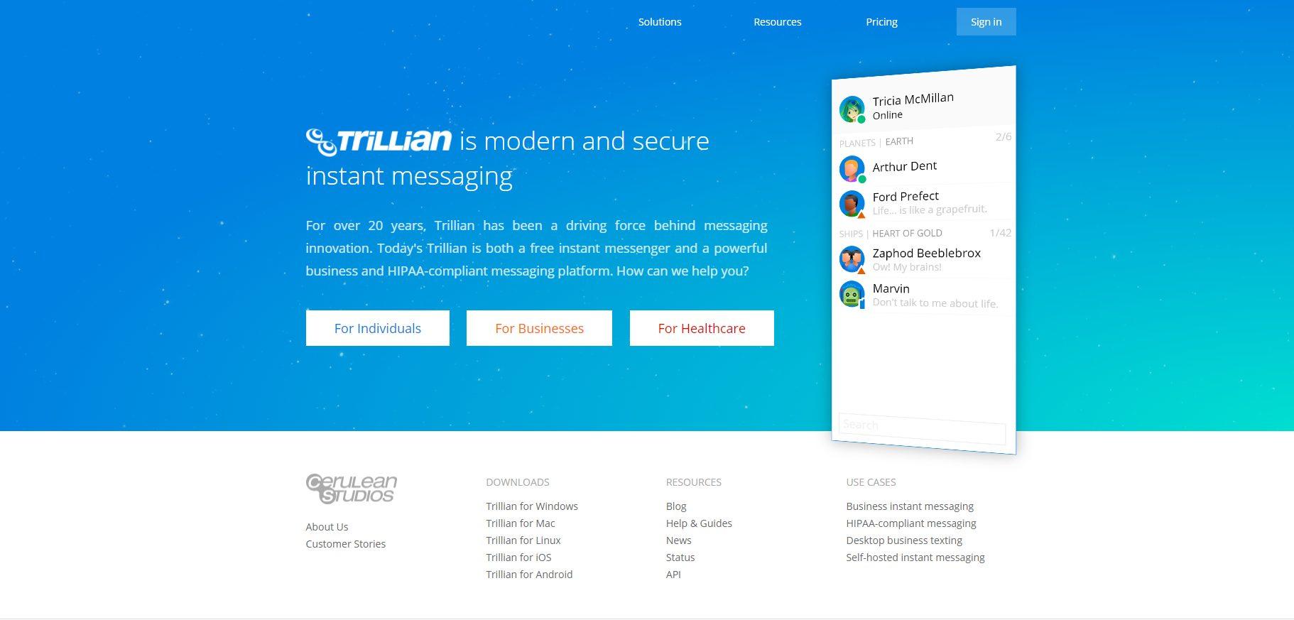 trillian- Apps Like Camfrog