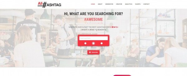 All Hashtag - hashtag generator