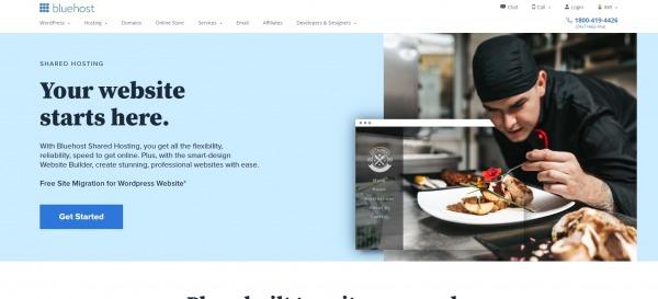 Bluehost - Shared Web Hosting